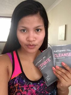 """I already opened them before I took the photo! Thanks for this tea, it gives me more energy and tastes so yummy"" Theres no wasting time with customer, Jenie. #bloatsabitch"