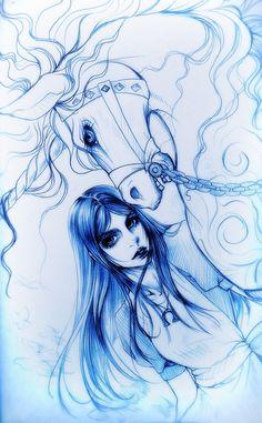 Alice Madness Returns_Hobby Horse by Sdiky on DeviantArt Alice Liddell, Dark Alice In Wonderland, Adventures In Wonderland, Alice Madness Returns, Rpg Horror Games, Art Corner, Hobby Horse, Female Art, Game Art