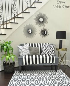 Honey We're Home: Staircase Makeover