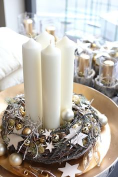 Weihnachtliche Gesteckideen von Meister-Floristin Jennifer Haverkamp und Florist…