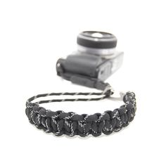 Camera Wrist Strap - Black 3M/Stainless Steel