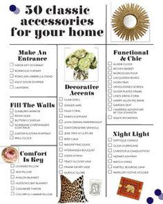 50 Classic Home Accessories