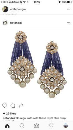 Diamond Solitaire Earrings H I – Modern Jewelry Nose Ring Jewelry, Jewelry Design Earrings, Beaded Jewelry, Silver Jewelry, Gold Jewellery, Silver Ring, Silver Earrings, Silver Necklaces, Diamond Chandelier Earrings