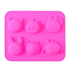 "Minnie & Friends ""Tsum Tsum"" Silicone Molds"
