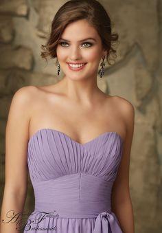 Bridesmaids Dress 20462 Luxe Chiffon