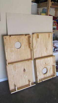 High Quality Nesting Cornhole Boards