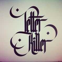 #lettering #typography #calligraphy