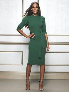 bb92dff2b64 Elisabeth Sweater Sheath Dress - Eva Mendes Collection