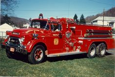 Barton Hose Co., Barton, MD. (Allegany Co.) 1958 GMC/Central 500/1600, replaced 1978