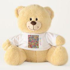 Aleph Bais Teddy Bear - customize create your own #personalize diy \u0026 cyo & Hebrew Alphabet Paper Plates-Hay Paper Plate | Hebrew Alphabet ...