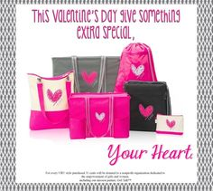 Just in time for Valentine's Day!  Limited time!  https://www.mythirtyone.com/SharonLanders/shop/Catalog/BrowseCatalog