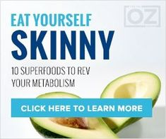 Dr. Oz explains the Super foods to boost metabolism by Prudence prune