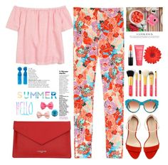 """Hello summer Polyvore"" by licethfashion ❤ liked on Polyvore featuring J.Crew, Zara, Lancaster, MAC Cosmetics, Dolce&Gabbana, H&M, licethfashion and polovestyle"