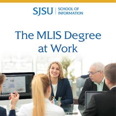 Master of Library and Information Science - SJSU Graduate Degree, Career Opportunities, College Life, Government Agencies, The Help, Graduation, Colleges, Organizations, Medical