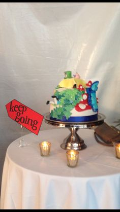 Mad Hatter Party Cake