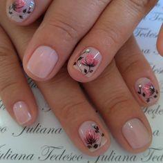 Cute Nails, Nail Ideas, Big, Beauty, Nail Bling, Flower, Finger Nails, Polish Nails, Pretty Toe Nails