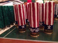 'Merica shotgun shell ornaments