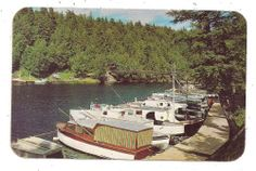 Black River Harbor near Ironwood, Bessemer and Wakefield MI Postcard 112011