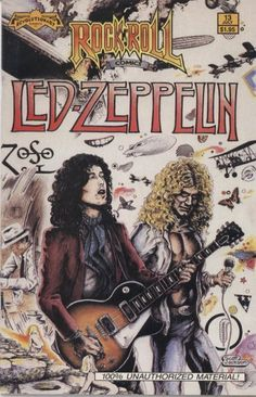Jimmy Page & Robert Plant Led Zeppelin artwork