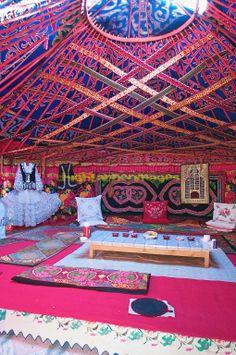 Beautiful Yurt in China