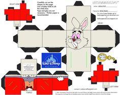 Dis19: White Rabbit Cubee by TheFlyingDachshund.deviantart.com on @deviantART