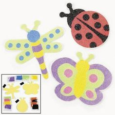 Bug Magnet Sand Art Craft Kits (1 dz)