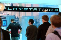PlayStation 3 developer demo area   Get the most popular video games. Save money and play on.
