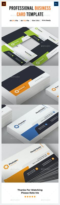 Business Card by Picoartbd | GraphicRiver Buy Business Cards, Name Cards, Company Names, Color Change, Card Templates, Corporate Business, Business Names, Card Patterns, Business Cards