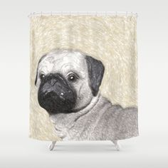 Customize your bathroom decor with unique shower curtains designed by artists around the world. Made from 100% polyester our…