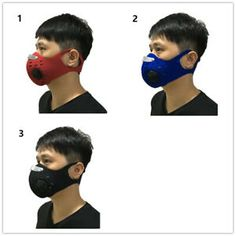 Online shopping for Cycling Masks with free worldwide shipping Biker Mask, Cycling Mask, Activated Carbon Filter, Sports Training, Cycling Bikes, Filters, Coupon, Pairs, Running