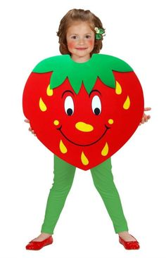 homemade strawberry costume - Google Search