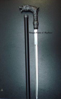 Everyone should own a cane sword. - Wolfman