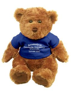 Product: Concordia University Wisconsin 'Somebody Loves Me' Plush Bear $15.00