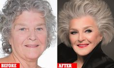 Gary Cockerill, who has worked with Eva Longoria and Jerry Hall, gave his mother Ann, 74, from Armthorpe, Doncaster, a glamorous new look using a few simple beauty tricks.