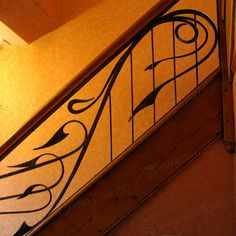fantasy steel stair railings