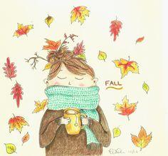 fallsforautumn:  tarmahartley:  Looking forward to it! :)   Autumn & Halloween