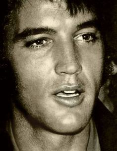 Elvis - beautiful close-up of that gorgeous face