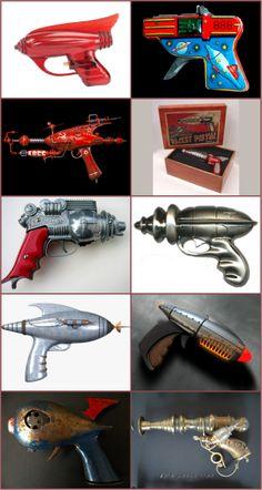 Vintage Toy Space Guns
