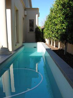 Granite swimming pool