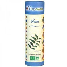 Neem 120 Gélules Bio & Vegan Ayur-Vana