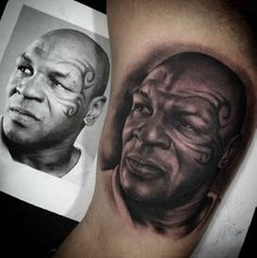 146b49c11f45f 12 Best Mike Tyson Tattoo images in 2015 | Sports, Combat sport, Faces