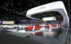audi Exhibition Stands, Exhibit Design, Audi Cars, Vehicles, Car, Vehicle, Tools