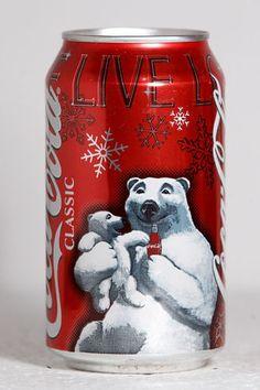 Coca Cola Classic 2005 Christmas USA Polar Bears