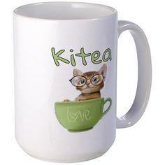 Kitea Love Mugs on CafePress.com