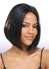 Temporary 10Inch Silky Straight Remy Human Hair Glueless Full Lace Wig