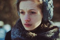 the girl from fairy tale where always is winter by laura makabresku, via Flickr