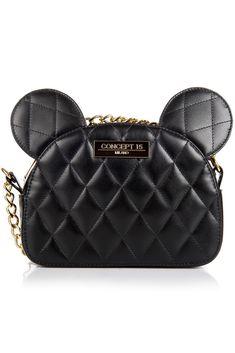 CONCEPT 15 MILANO - GEANTA DE PIELE NEAGRA AVA BLACK MOUSE Shoulder Bag, Bags, Fashion, Handbags, Moda, Fashion Styles, Shoulder Bags, Fashion Illustrations, Bag