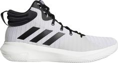 on sale c7ee4 11717 adidas Mens Pro Elevate 2018 Basketball Shoes, Size 17, White Basketball  Court Size