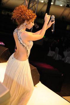 Myriam Fares amazing curly hair