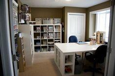 Home-school room or craft room